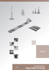 Documento PDF catalogo accesorios seguridad parking 2016