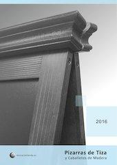 Documento PDF catalogo pizarras de tiza y caballetes de madera 2016
