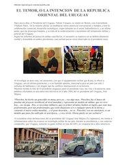 Documento PDF el temor de la republica oriental del uruguay