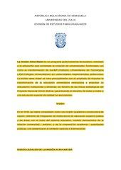 Documento PDF la misi n alma mater pdf