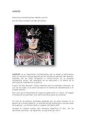 Documento PDF androide prensa con fotos