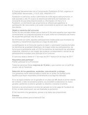 Documento PDF bases legales sorteo el sol