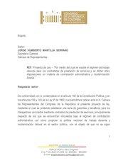 Documento PDF proyecto de ley regimen de contratistas final radicado