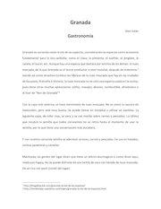 Documento PDF granada gastronomia