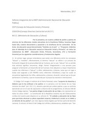 Documento PDF carta autoridades ensenanza para firmar 2017