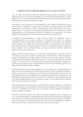 Documento PDF manifiesto