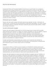 Documento PDF pol tica de privacidad de el sal n