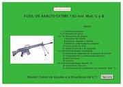 Documento PDF ejercito espanol mi6 013 laminas fusil asalto cetme 7 62 mm c y b