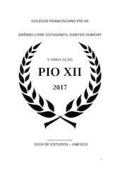 Documento PDF guia de estudos unesco vsip 2017 oficial