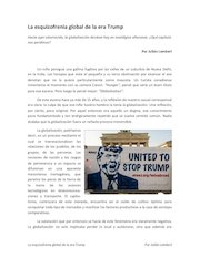 Documento PDF la esquizofrenia global de la era trump