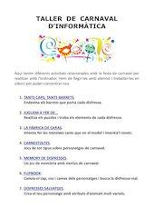 Documento PDF tallers carnaval