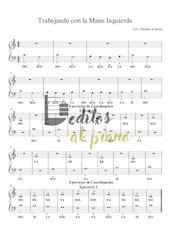 Documento PDF trabajando con la mano izquierda deditos al piano