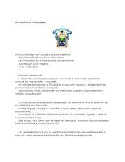 Documento PDF texto matematico