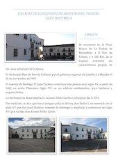 Documento PDF palacio de los condes de montalban guia historica 21 06 18