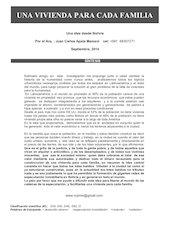 Documento PDF una vivienda para cada familia