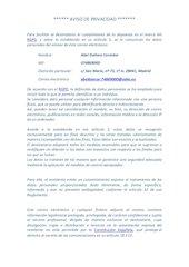 Documento PDF aviso de privacidad zoho