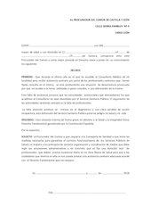 Documento PDF denuncia procurador deficit asistencia consultorios