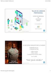 Documento PDF taller linkedin profesional