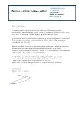 Documento PDF carta de recomanacio de damian martinez marco