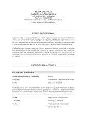 Documento PDF hoja de vida ajse