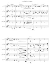4 - Yellow Mountains - Jacob de Haan - Set of Clarinets.pdf - página 3/12