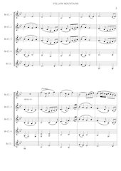 4 - Yellow Mountains - Jacob de Haan - Set of Clarinets.pdf - página 4/12