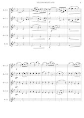 4 - Yellow Mountains - Jacob de Haan - Set of Clarinets.pdf - página 5/12