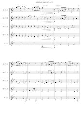 4 - Yellow Mountains - Jacob de Haan - Set of Clarinets.pdf - página 6/12