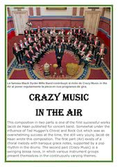 Documento PDF 6   crazy music in the air   jacob de haan   set of clarinets