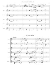 6 - Crazy Music in the Air - Jacob de Haan - Set of Clarinets.pdf - página 6/25