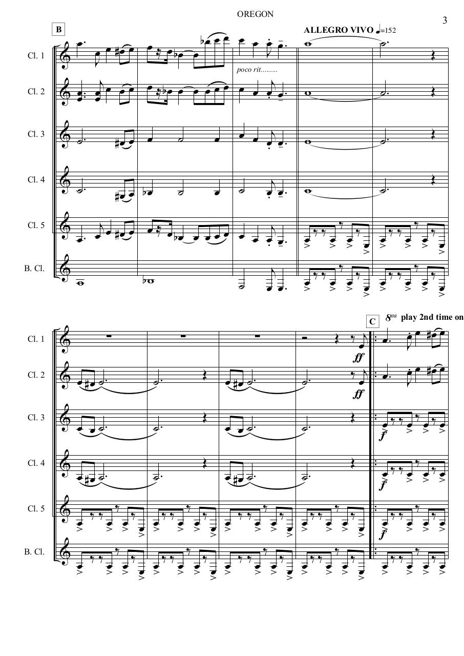 7 - Oregon - Jacob de Haan - Set of Clarinets.pdf - página 4/56
