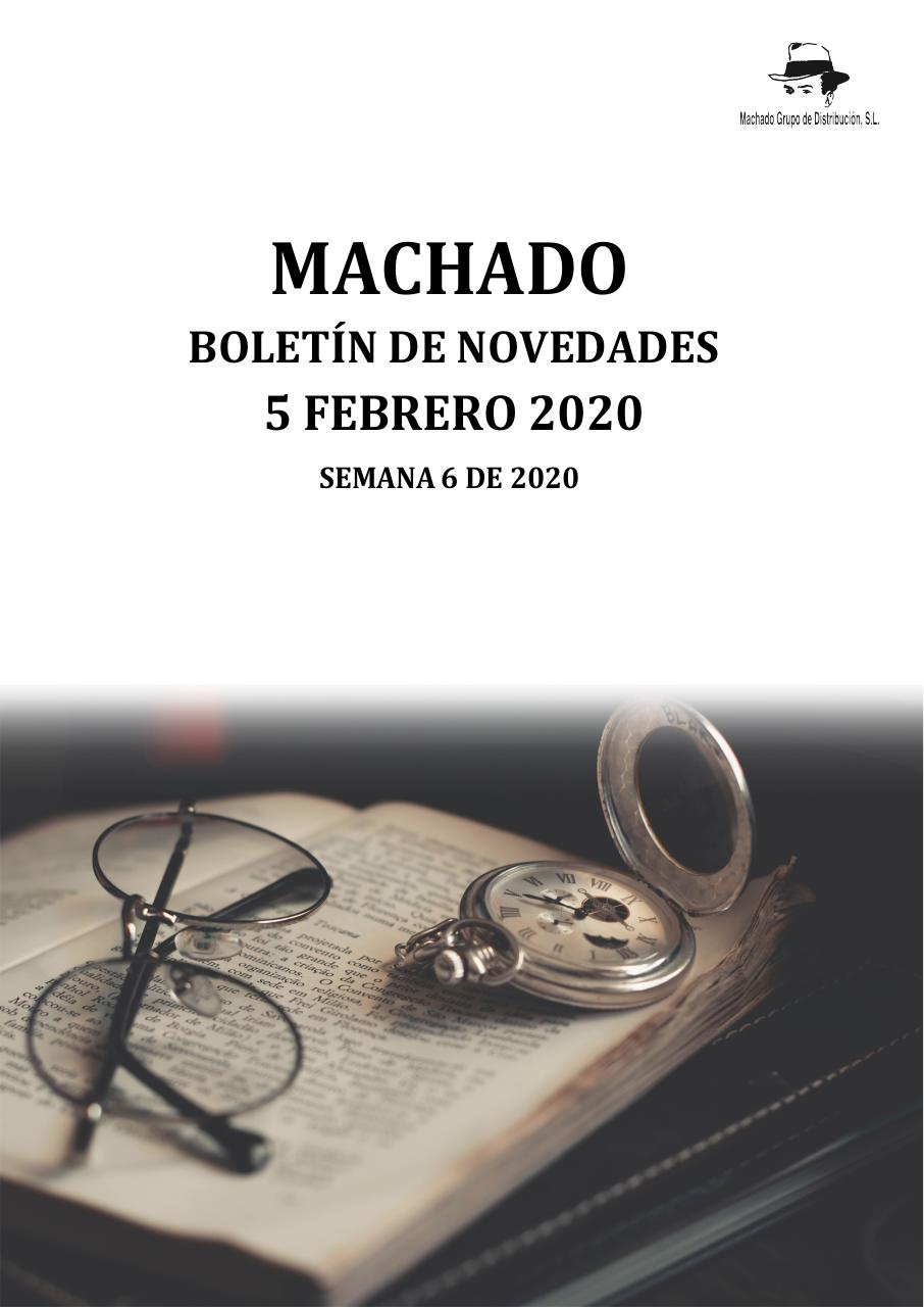 Machado Boletín Novedades 5 2 20 Zc Caja Pdf