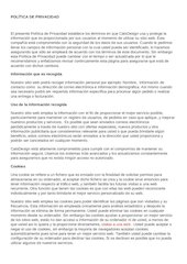 Documento PDF export