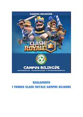 Documento PDF reglamento torneo clash royale campus bilingue