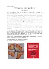 Documento PDF jueves santo de portas para dentro 1
