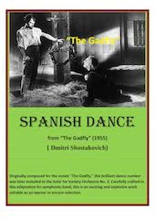 Documento PDF spanish dance   dshostakovich   set of clarinets