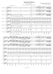Spanish Dance - D.Shostakovich - Set of Clarinets.pdf - página 2/32