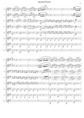 Spanish Dance - D.Shostakovich - Set of Clarinets.pdf - página 6/32