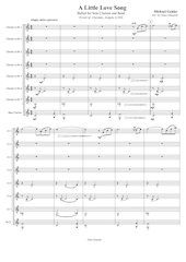 30 - A Little Love Song - Michael Geisler - Set of Clarinets.pdf - página 2/15