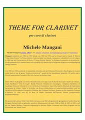 Documento PDF 49   theme for clarinet   mangani   set of clarinets
