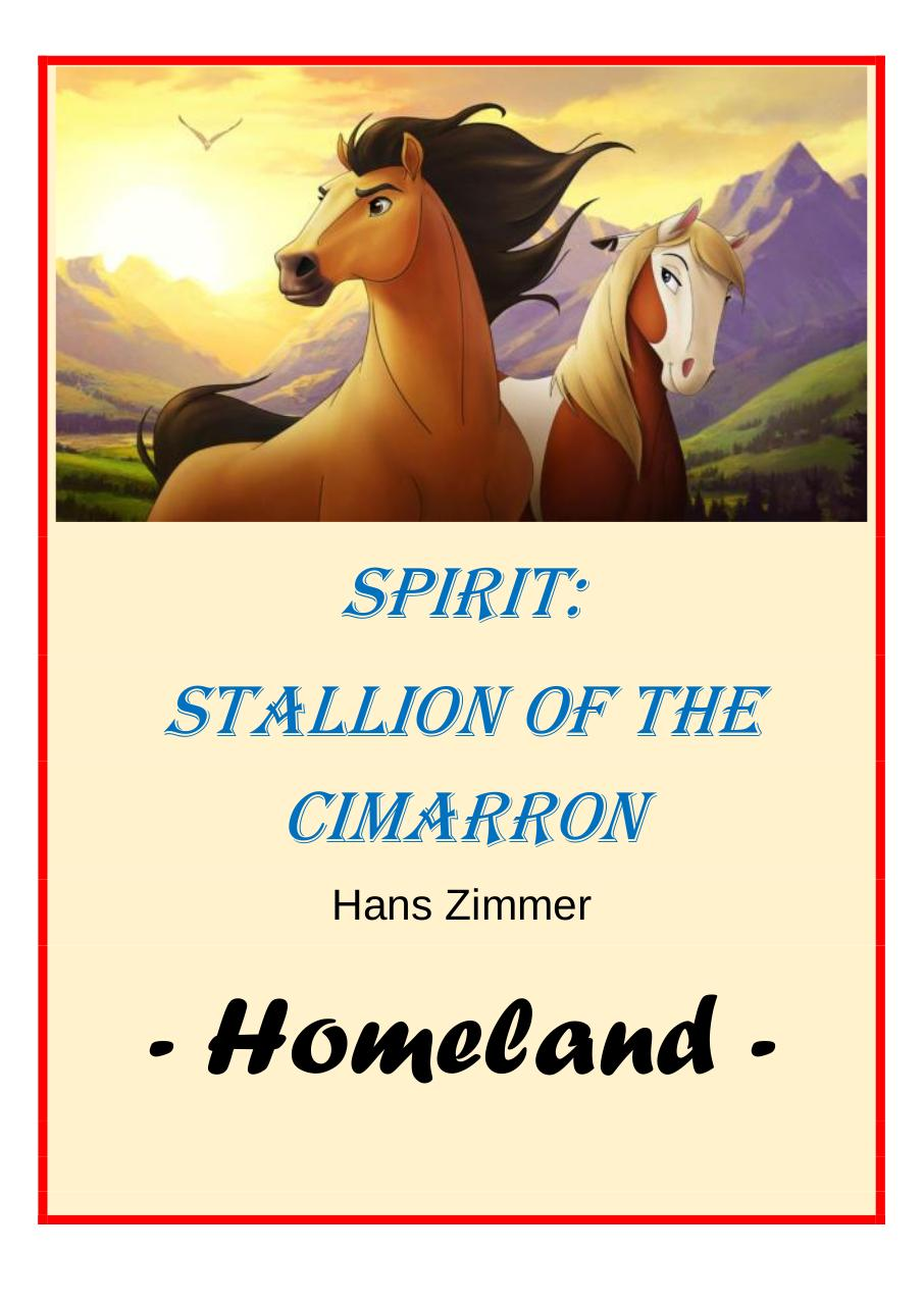 50 - Spirit - Stallion of the Cimarron - Set of Clarinets.pdf - página 1/28