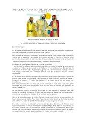 Documento PDF reflexin para el tercer domingo de pascua