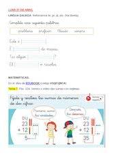 Documento PDF lingua e matemticas
