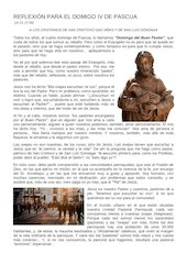 Documento PDF reflexin para domingo cuarto de pascua 2020