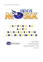 Documento PDF cluster de alto rendimiento con openmosix