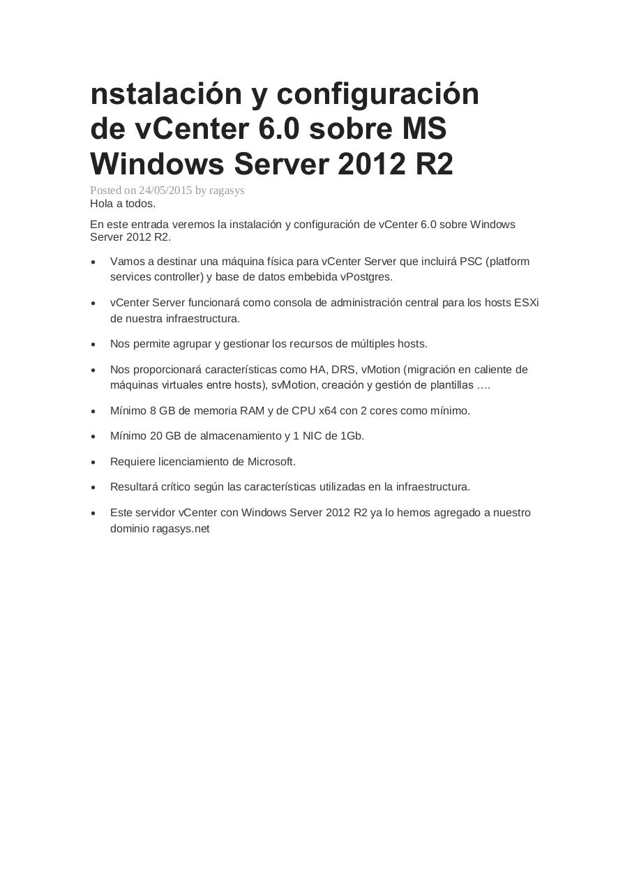 Instalar vcenter en windows server.pdf - página 1/41