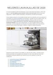 Documento PDF elegir el mejor lavavajillas