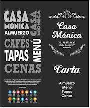 Documento PDF menu casa monica